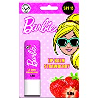 Barbie Flavored Lip Balm, Strawberry, 4.8g