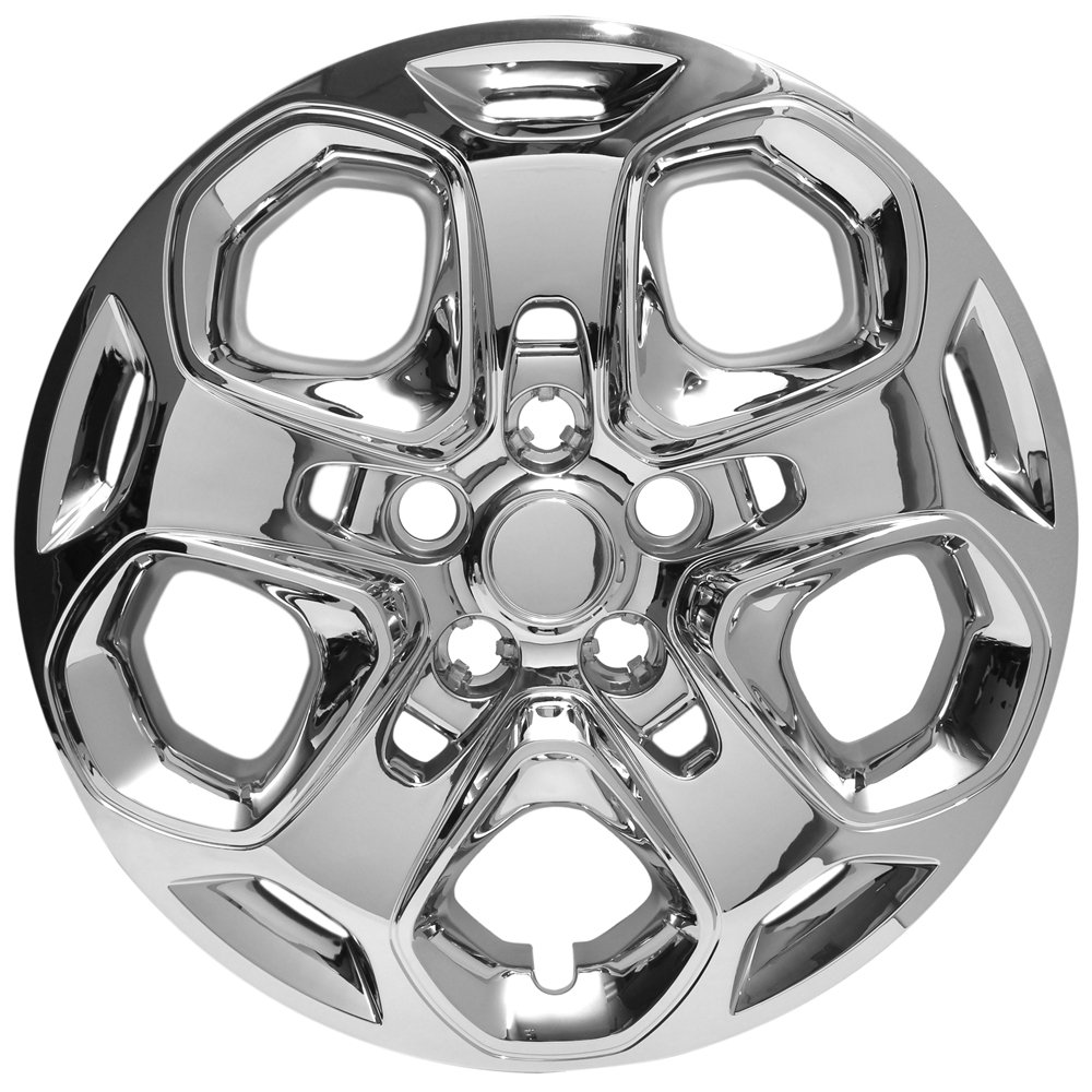 Amazon.com: Hubcaps for Ford Fusion (Pack of 4) Wheel Covers - 17 inch, Snap On, Chrome: Automotive