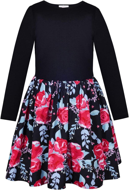 Divine Kids Girls Floral 2 Piece Tank Top and Skirt Set