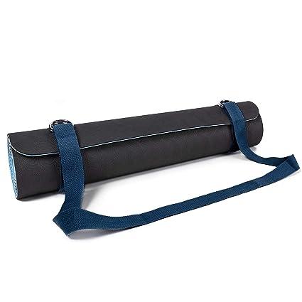 Esterillas de Yoga Correa Saller Yuki de # doyour Yoga, práctica y Extra Gruesos de Correa de Transporte Ajustable para Todo Tipo de Yoga, Pilates, ...