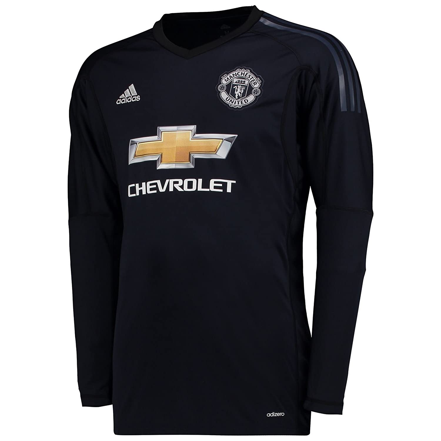 ec5496756c0 Manchester United Home Goalkeeper Shirt 2017-18 - Kids with De Gea 1  printing - 9-10 Years: Amazon.co.uk: Clothing