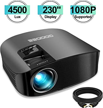 GooDee GD-600 4500-Lumens LCD Home Theater Projector