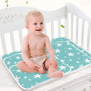 7381bbe7d07 Amazon.com   Toddler Infant Waterproof Changing Pad - Upgrade Breathable Urine  Mat Menstrual Pads for Children and Adults Pack of 3 (S (17.7 x 13.7 Inch))    ...