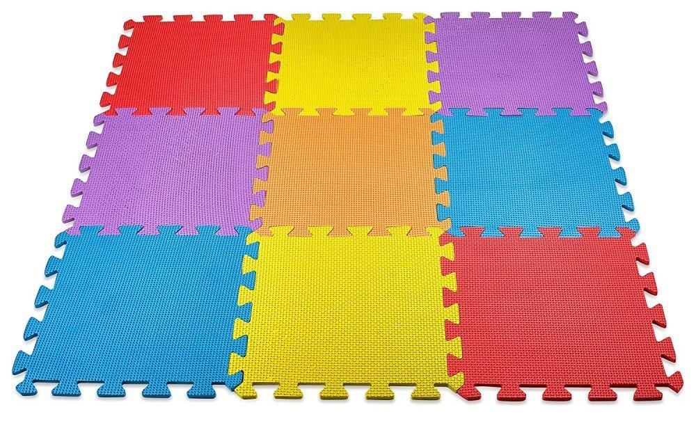 Baby Floor Play Mat EVA Interlocking Soft Colors Durable Non Toxic Lead Free New