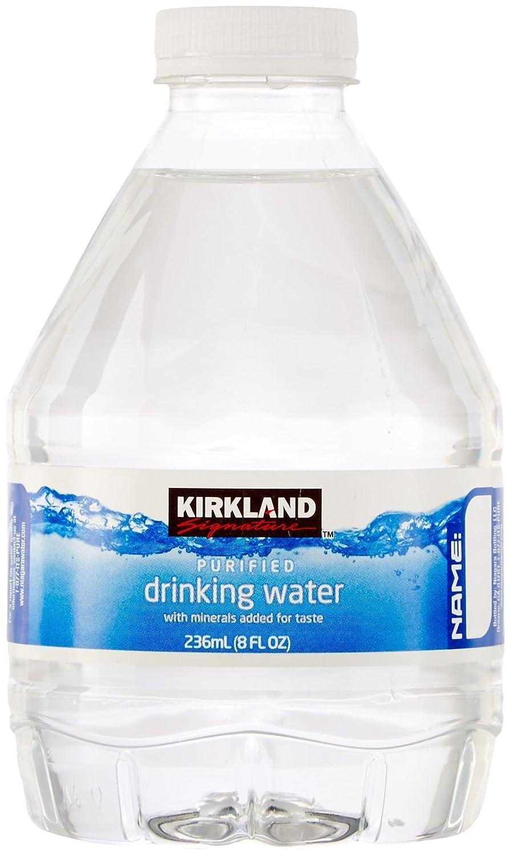 Kirkland Signature Premium Drinking Water, 8 Oz, 80 Count