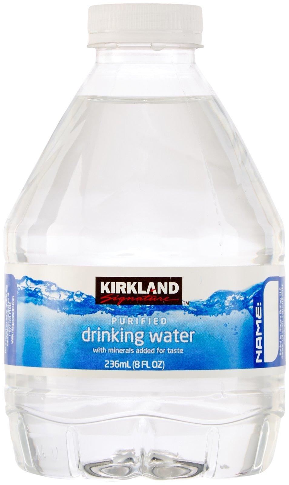 Kirkland Signature Premium Drinking Water, 8 Oz, 80 Count - 906165 ...