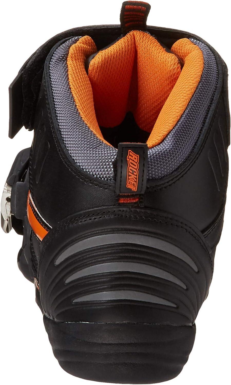 White//Black, Size 8 Joe Rocket Atomic Mens Motorcycle Riding Boots//Shoes
