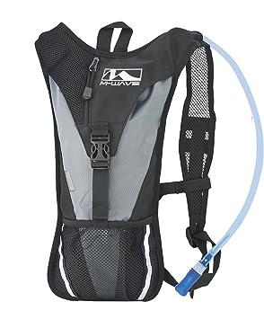 M-Wave Maastricht Mochila Hidratación, Unisex, Negro, 2 l: Amazon.es: Deportes y aire libre