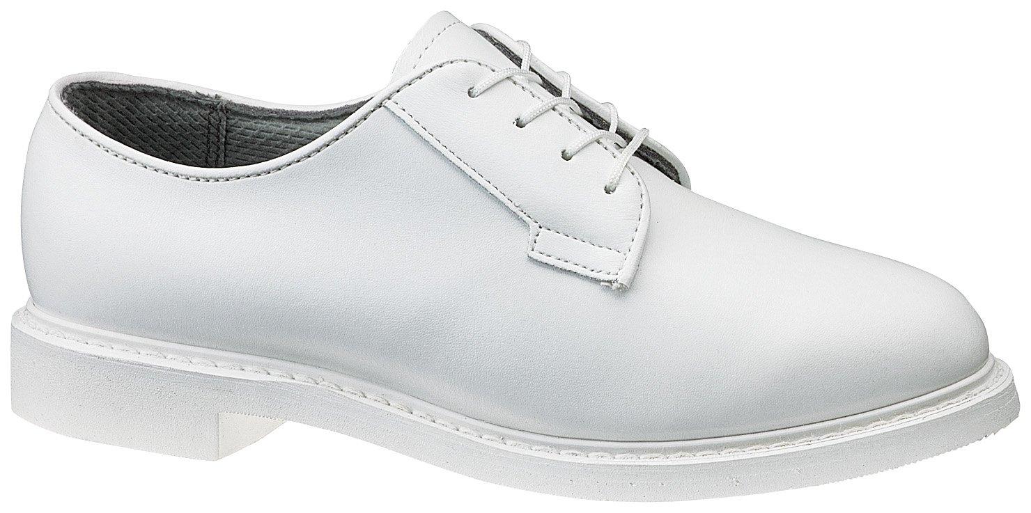 Bates Women's Bates Lites White Leather Uniform Oxford Shoes 10.5 M