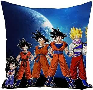 Fabulous Funda de cojín Dragon Ball evolución de Son Goku