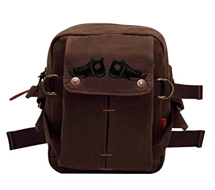 89b387cd28 jeansian Fashion Homme Sacoche Besace Loisirs Sacs Men's Womens Unisex  Canvas Messager Hang Bag BG030 Coffee