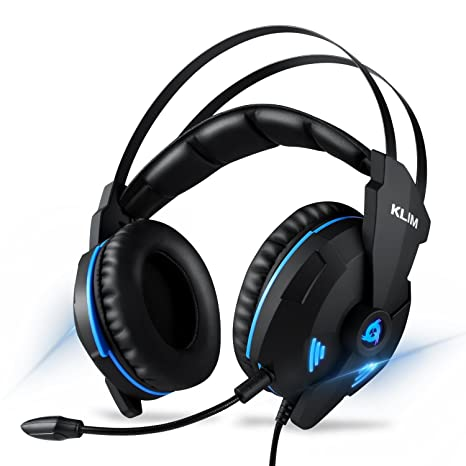 Klim IMPACT - USB Gaming Headset - 7.1 Surround Sound + Noise Cancelling - High definition