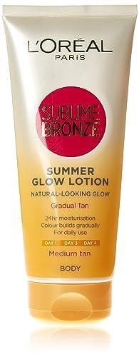 L'Oréal Sublime Self-Tan Body Lotion Medium, 200ml