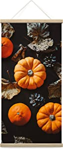 bestdeal depot Hanging Poster Pumpkins Farmhouse/Country Food Fun Kitchen Multicolor Photography Spices Canvas Prints Wall Art for Living Room, Bedroom - 18