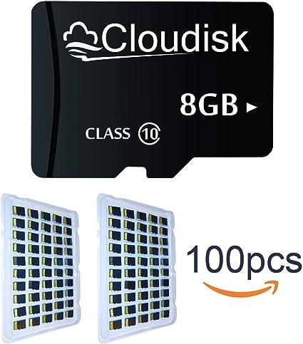 Cloudisk Tarjeta 100pcs al por Mayor de Memoria Micro SD Tarjetas ...