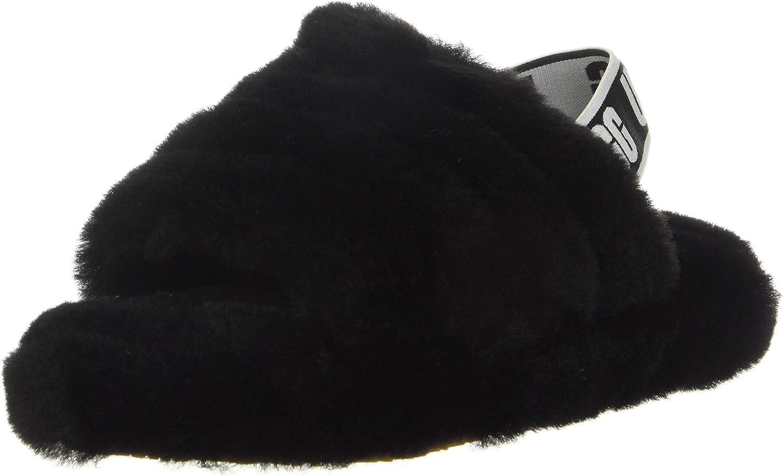 | UGG Kids' Fluff Yeah Slide Motlee Slipper | Sandals