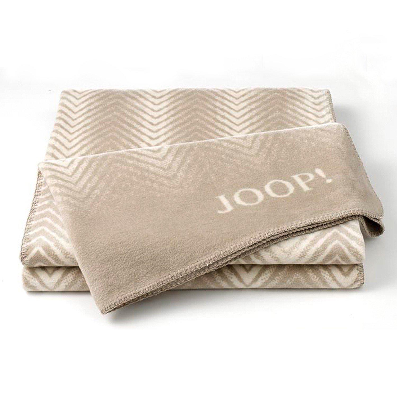 Joop  Wohndecke Faded Herringbone   Sand-Pergament   150 x 200 cm