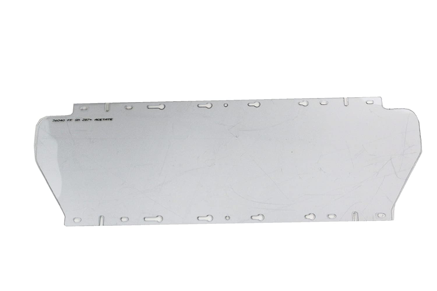 Sellstrom Replacement Window for 380 Series Safety Face Shields, Anti-Fog Coating Acetate, Clear Tint, S36040