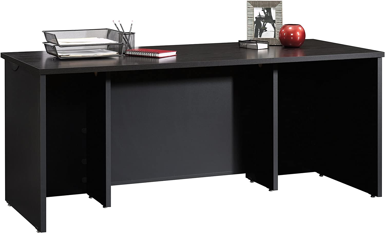 Sauder 419587 Via Executive Desk, Bourbon Oak Finish