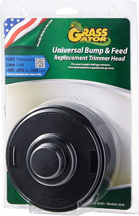 Grass Gator 3630 Universal Bump & Feed Replacement String Trimmer Head