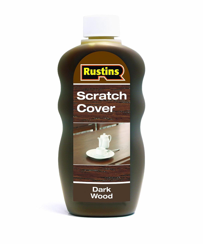 Rustins 300ml Scratch Cover - Dark SCDW300
