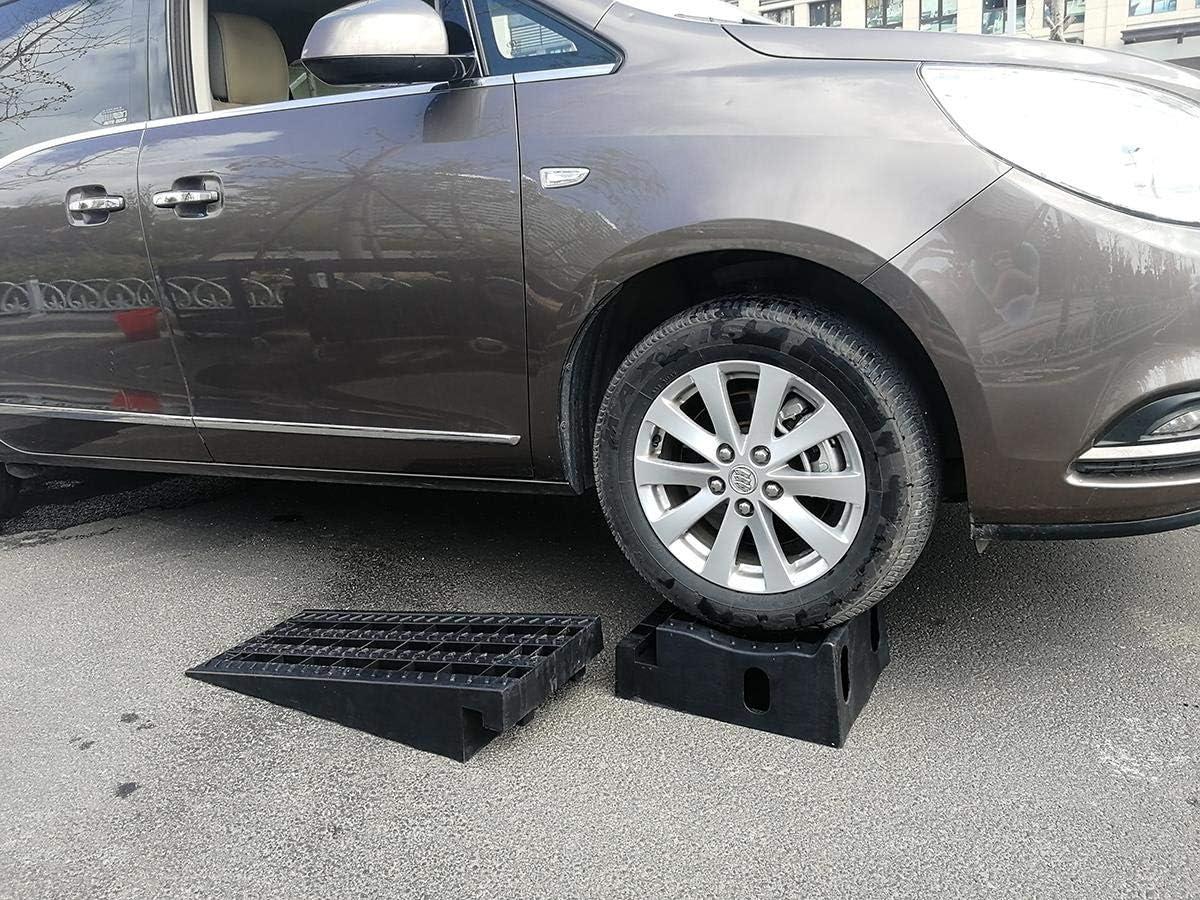 niedriges Profil KATSU 2PCS Hochleistungsplastikgaragen-Werkstatt-Auto-Service-Rampen