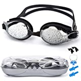 Amazon Price History for:SIXBOX Swim Goggles leak free anti UV lens adjustable shoulder strap Triathlon Swimming Goggles Anti fog nose clip, Ear adult male, Female, Kids,Youth