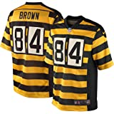 Pittsburgh Steelers Antonio Brown Youth Throwback Nike Bumblebee Game Jersey