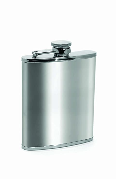 Amazon.com: Houdini Flask de bolsillo (6-Ounce, acero ...
