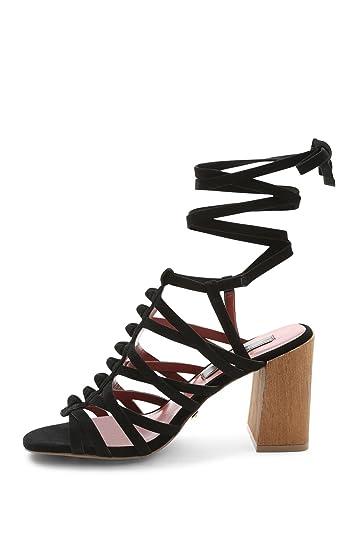 7da597d6783 kensie Sadira Heeled Gladiator Sandals