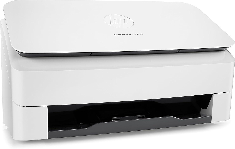 HP ScanJet Pro 3000 S3 Scanner Compatto a Singola Scansione L2753A Bianco Professionale per Documenti e Immagini