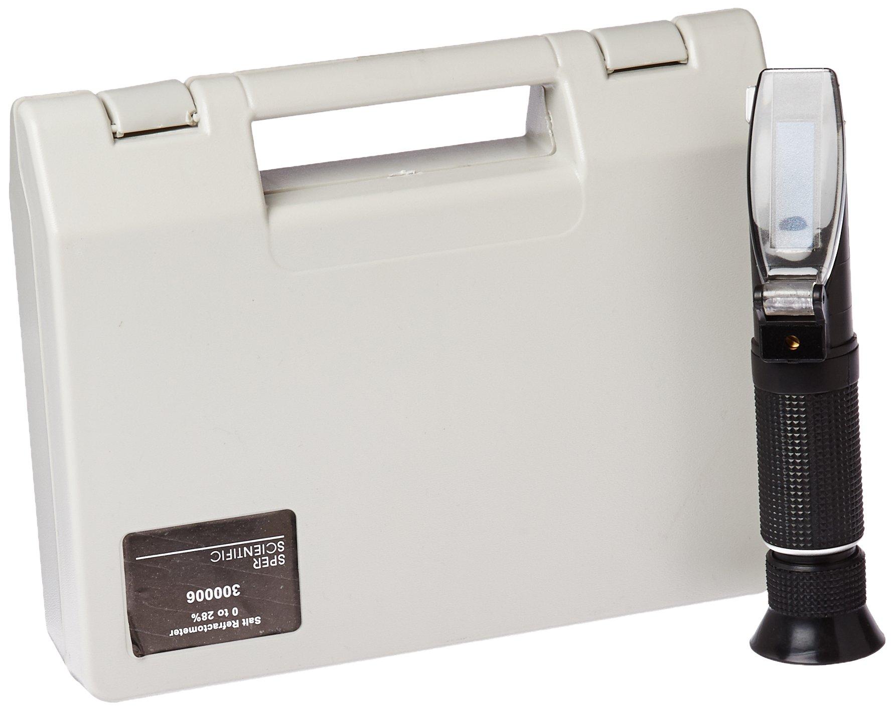 Sper Scientific 300006 Salt Refractometer, Brix: 0 ~ 28%