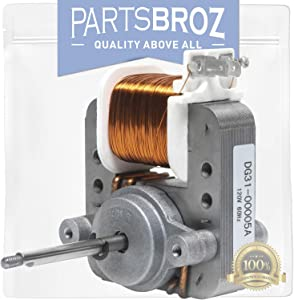 DG31-00005A Convection Fan Motor for Samsung Ranges by PartsBroz - Replaces Part Numbers AP4338602, 2087455 & PS4240735