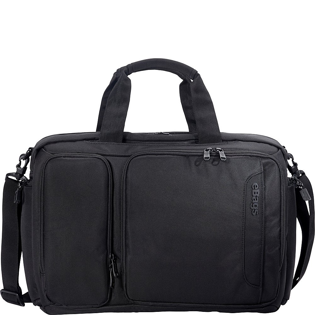 eBags Professional Laptop Briefcase (Black) by eBags (Image #3)
