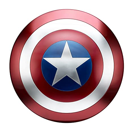 Avengers Marvel Legends Captain America Shield Dressing Up & Costumes at amazon