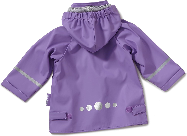 Playshoes Regenjacke Basic Impermeabile Unisex-Bambini