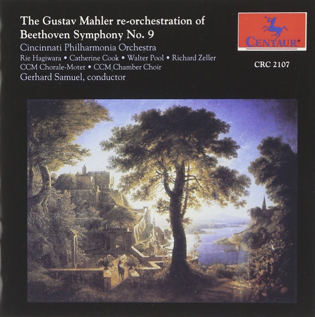 """CD : Ludwig van Beethoven - Mahler Re-orchestration Of Symphony 9 """" Choral """" (CD)"""
