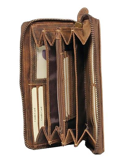 Damen Geldbörse Börse Portmonee Portemonnaie KATZE Blogger Vintage Geldbeutel