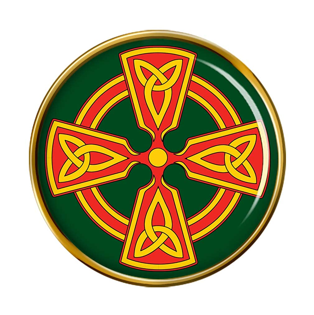 Family-crests.com Celtic Cross Pin Badge