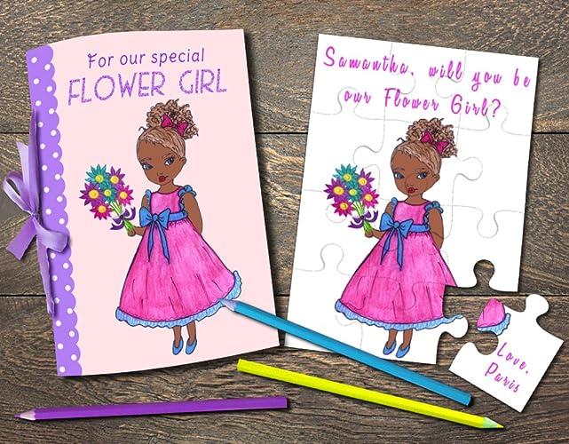 Amazon.com: African American Flower Girl, Flower Girl ...