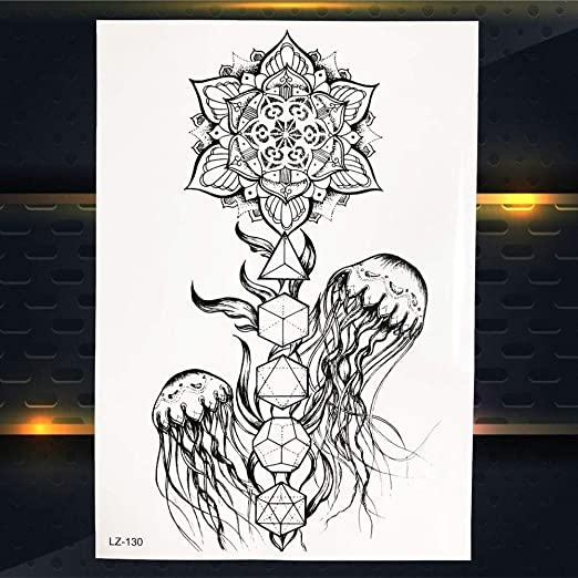 Zhuhuimin 5 Unidades/Set Tatuaje de búho de Moda Consejos de ...