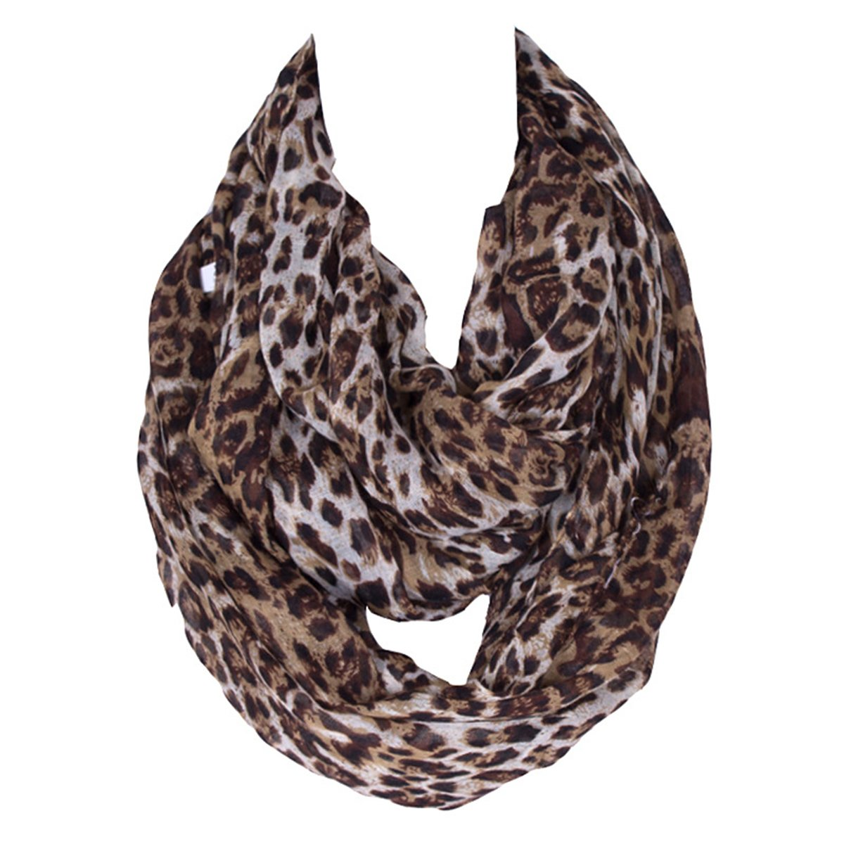 Butterme mujeres Various Artist Imprimé luz dulce peso Fashion infinity bucle círculo bufanda Chevron Sheer infinity Scarf Pañuelo, style#1 ZUMUii