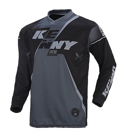 Kenny Track Motocross Jersey 2017 - Negro de gris, negro / gris, small: Amazon.es: Deportes y aire libre