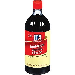 McCormick Imitation Vanilla Flavor (32oz bottle)