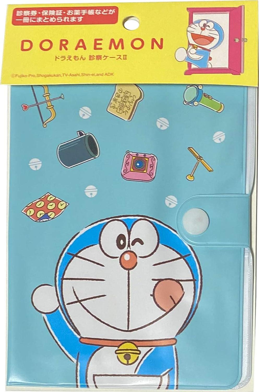 Type-B Doraemon Vinyl Travel Passport Examination Case Holder
