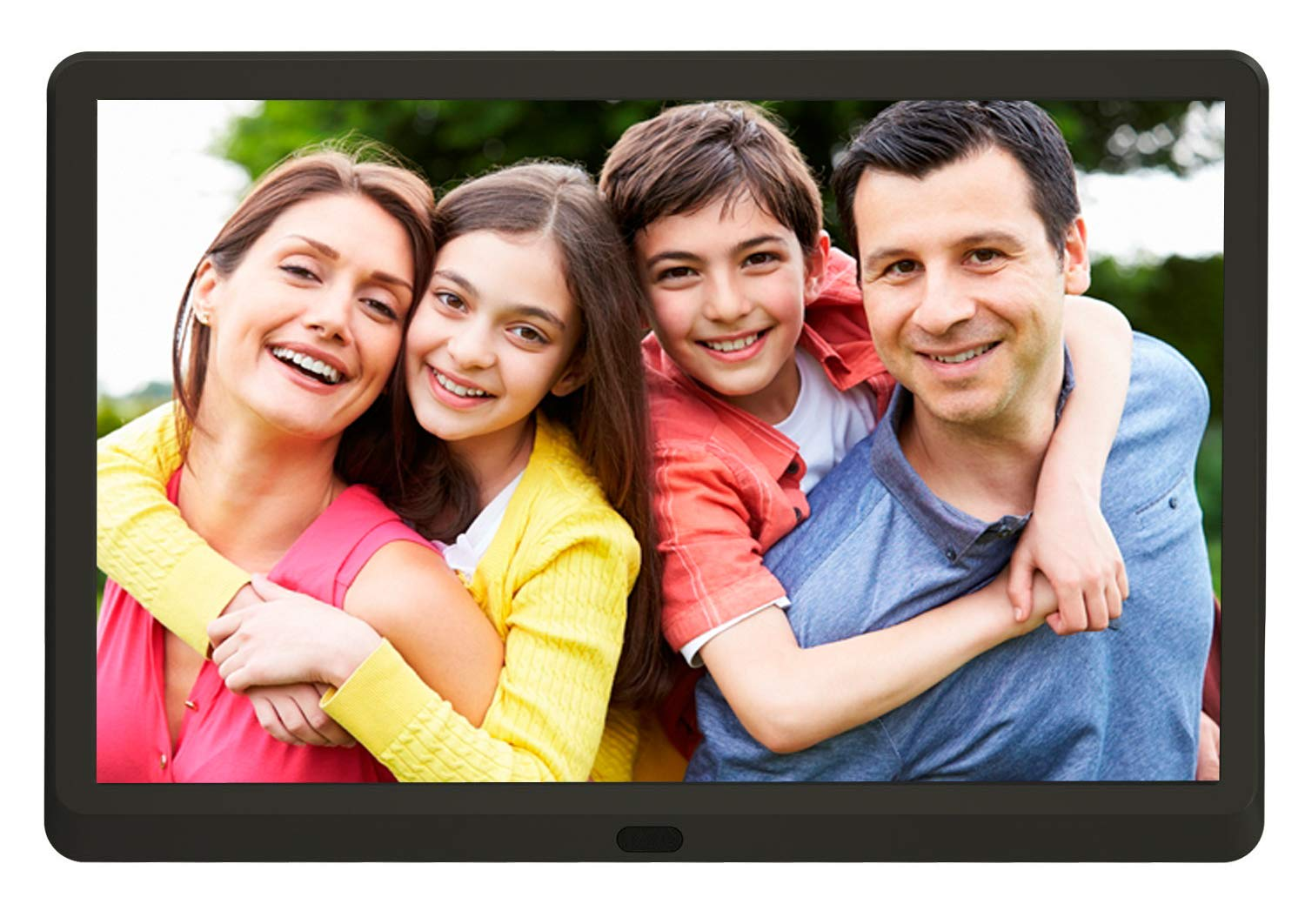 Full HD Digital Picture Frame 1920X1080 Resolution Display 15.6 Inches Advertising Media Player with Timer Switch Function and Remote Control