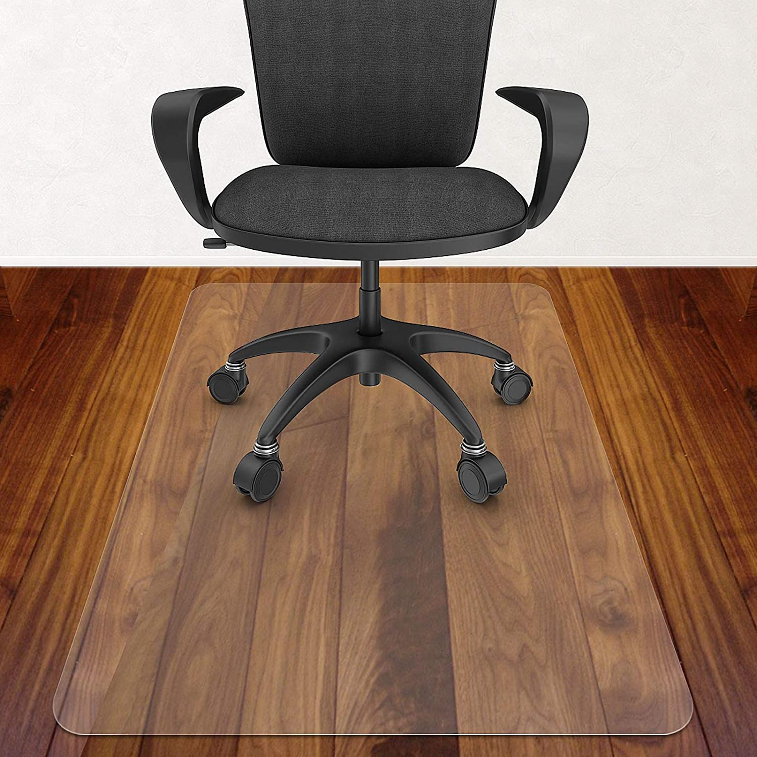 Azadx Home Office Chair Mat 30'' x 48'', Transparent Hard Floors Protector Rectangle, Office Chair Mats for Hard Surfaces (30 x 48'' Rectangle): Kitchen & Dining
