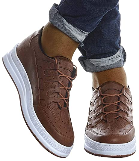Leif Nelson Herren Schuhe für Freizeit Sport Training Freizeitschuhe Männer weiße Sneaker für Sommer Winter Sommerschuhe Sportschuhe Weiße Schuhe für
