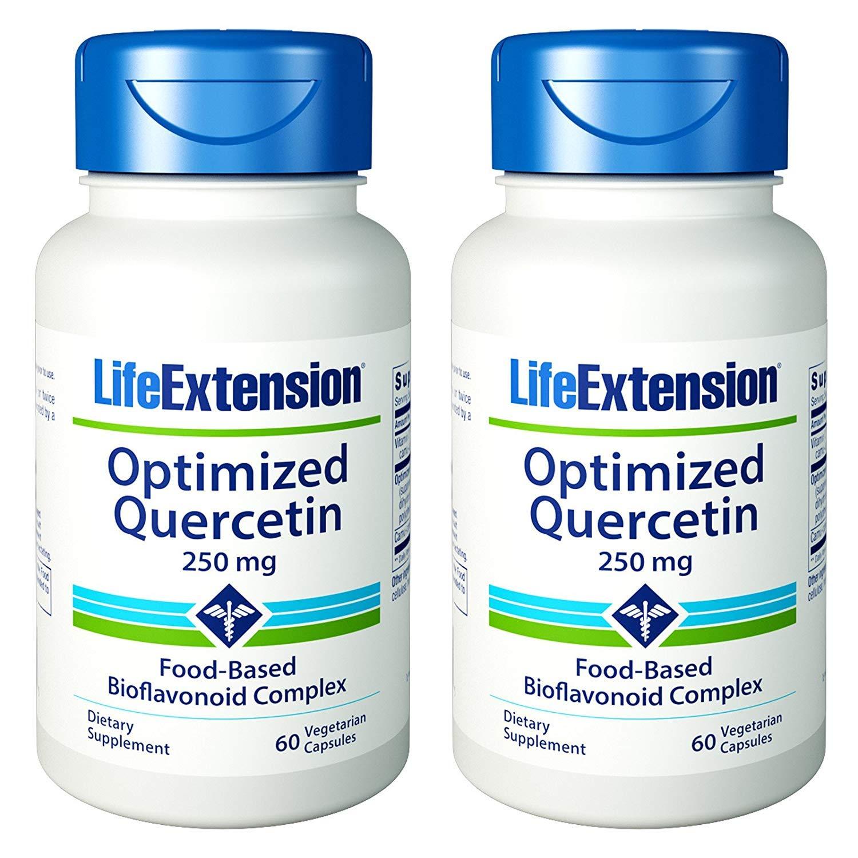 Life Extension Optimized Quercetin | 60 vegetarian capsules (Multi-Pack)