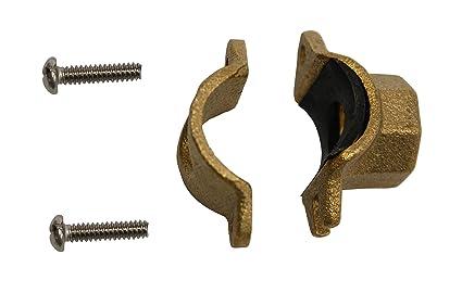 Amazon heavy duty muffler clamp inch saddle style